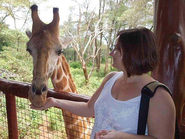 Anza Snyman - Giraffe Centre
