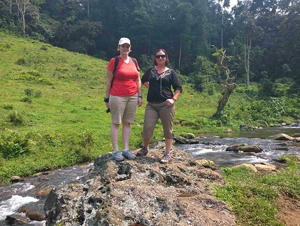 Anza Snyman - gorilla trek