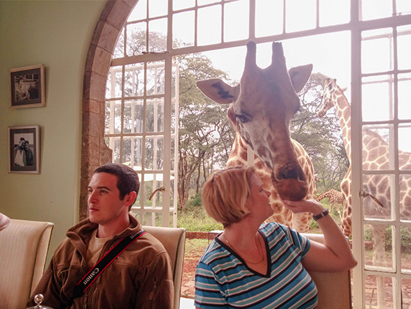 Ramona Cilliers - Giraffe Manor