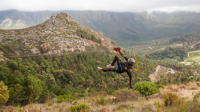 Zipline Adventure in Cape Town