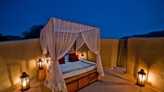 Most Romantic Beds with a View in Africa