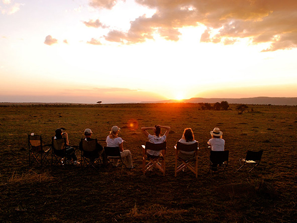 Serengeti: Watching a Tanzanian sunset