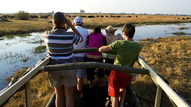 Teens in Africa - family safari