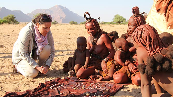 Teens in Africa - Himba in Namibia