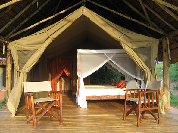 Mihingo Lodge - Tented suite