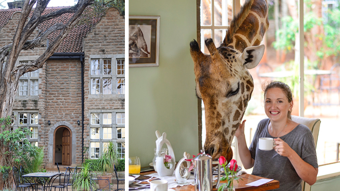 The Giraffe Manor Experience: A Photo Essay