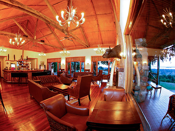 Mweya Safari Lodge - Public areas