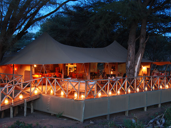 Elephant Bedroom Camp - Main Deck