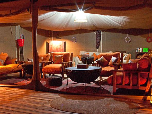 Elephant Bedroom Camp - Main Lounge