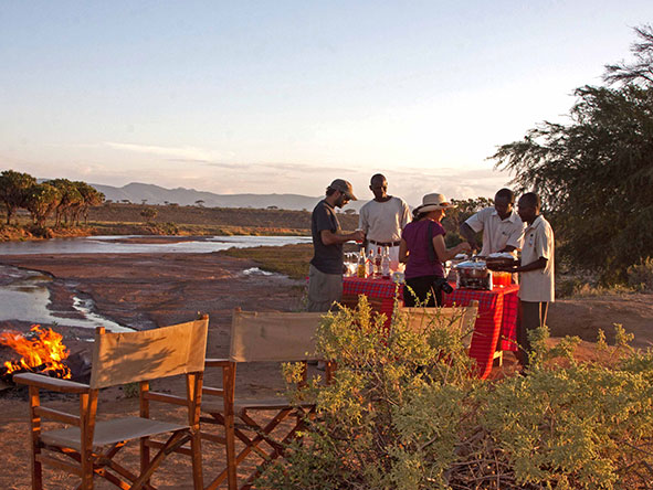 Elephant Bedroom Camp - Sundowners
