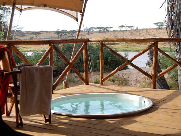 Elephant Bedroom Camp - Plunge pool