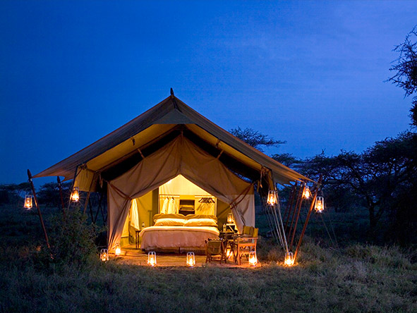 East Africa Safari - mobile camping