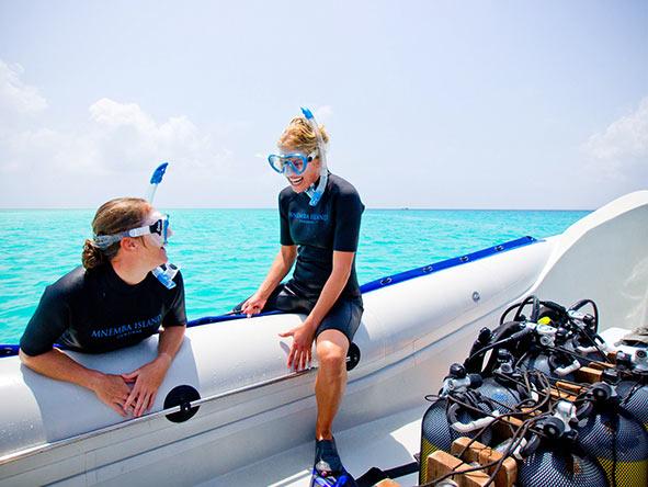 East Africa Safari - snorkelling