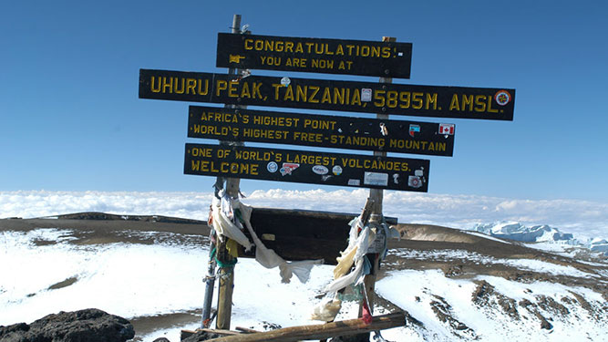 Make it Up Kilimanjaro - Uhuru Peak