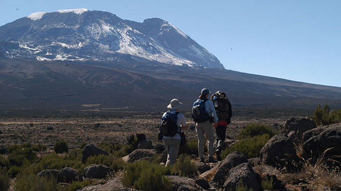Make it Up Kilimanjaro - the long walk