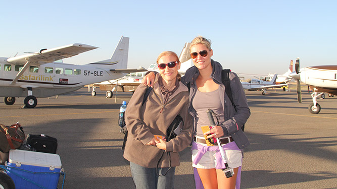 Is it safe to travel to Kenya? Anja & Ashley