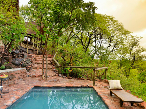 Ghoha Hills Savuti Lodge - Suites and Swimming pool