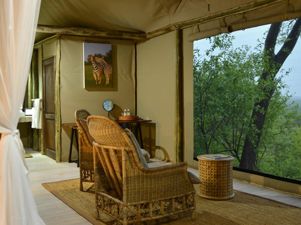 Ghoha Hills Savuti Lodge - Suite view