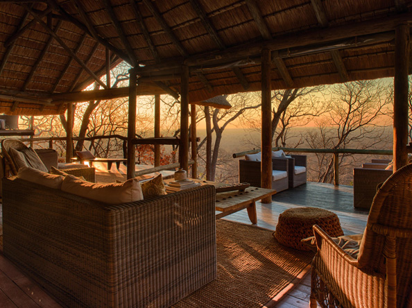Ghoha Hills Savuti Lodge - Lounge safari