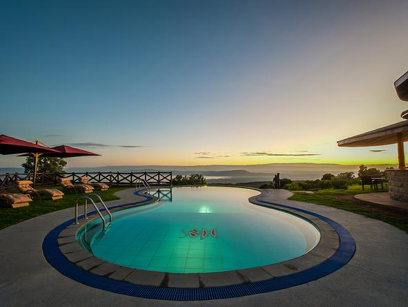 Lake Nakuru Sopa Lodge - swimming pool