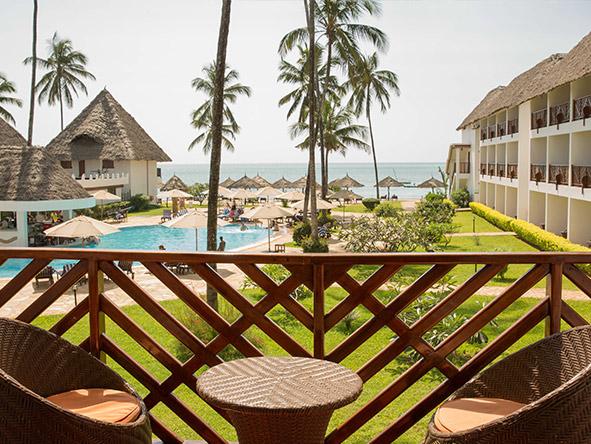 DoubleTree Resort by Hilton Hotel Zanzibar-Nungwi - Balcony