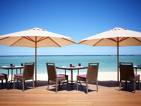 Spectacular Safari & Beach Escape - Lux Le Morne Beach deck
