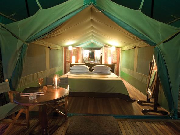 luxury tent, Kenya