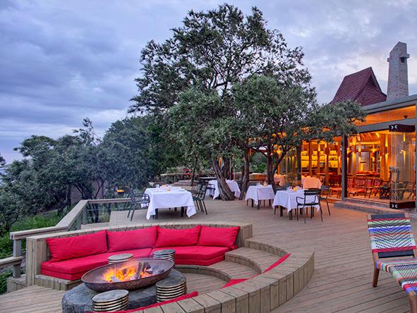 Angama Mara main deck