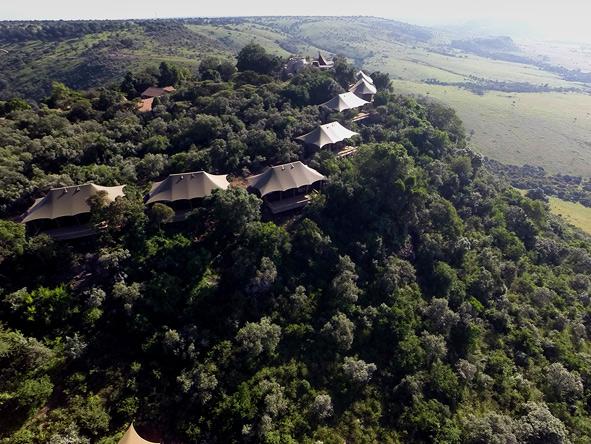 View of Angama Mara