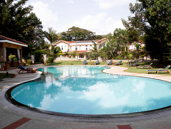 House of Waine, swimming pool