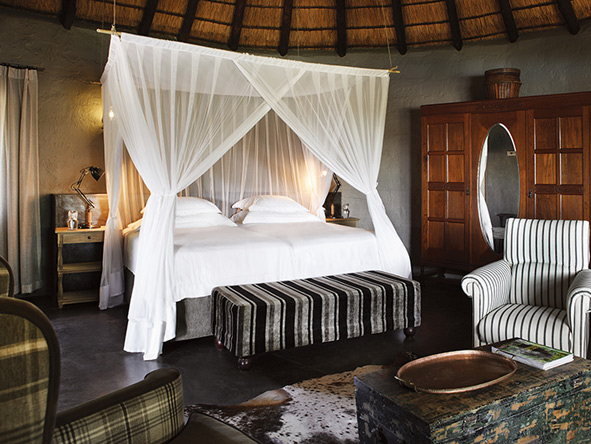 Motswari Game Lodge, luxury suite