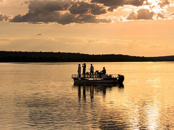 Boat trips on the Zambezi, Zambia