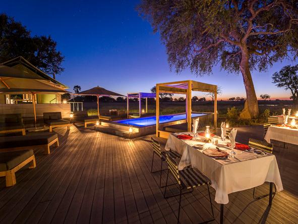Linkwasha Camp - outdoor deck