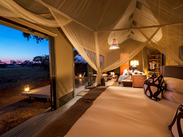 Linkwasha Camp - luxury tented suite