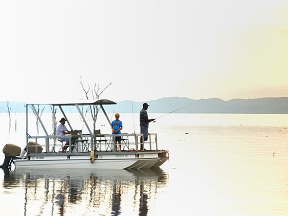 Kariba Dam - fishing