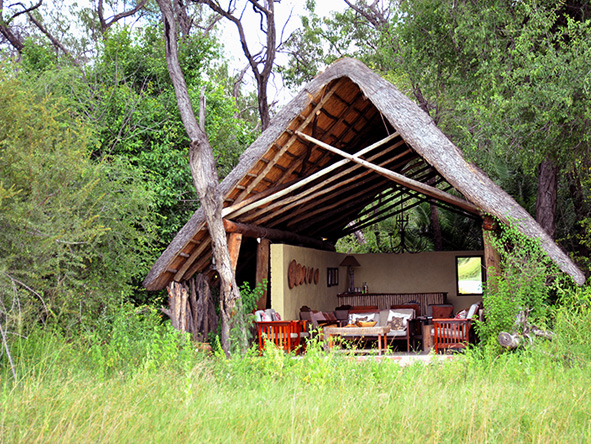 The Hide - tented accommodation
