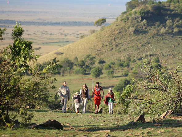 Masai Mara, guided safari walk