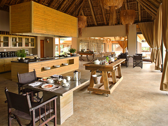 Kichwa Tembo Tented Camp, kitchen