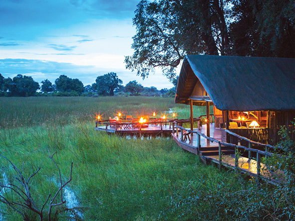 Duba Plains Camp, Okavango Delta