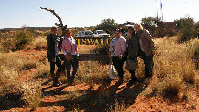 Our Kalahari Safari - farewell Tswalu