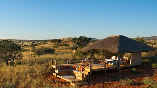 Our Kalahari Safari - Malori sleepout