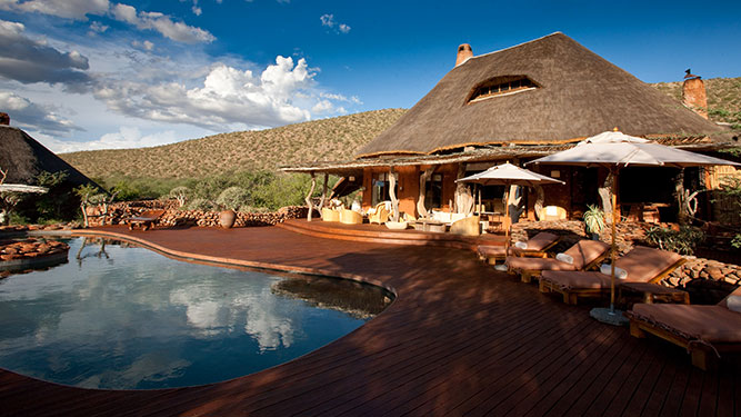 Our Kalahari Safari - Motse Lodge