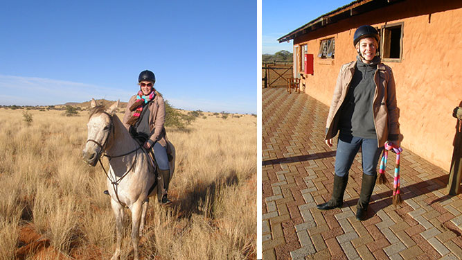 Our Kalahari Safari - a day's ride