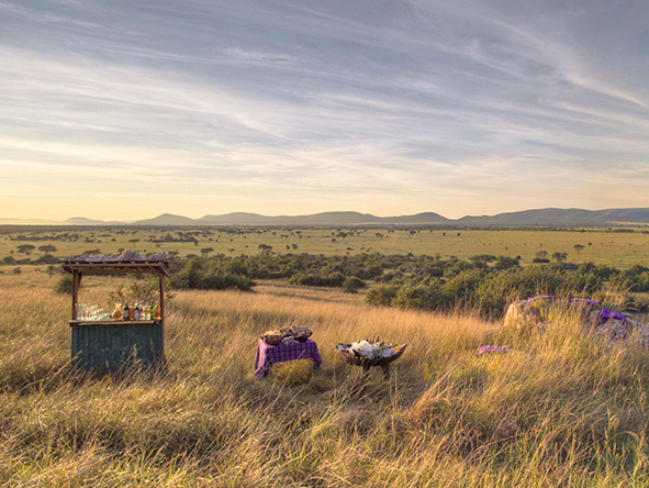 Grumeti Serengeti Tented Camp - Outdoor picnic