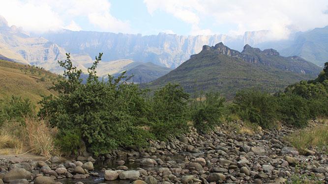 KwaZulu Natal - the Drakensberg Amphitheatre