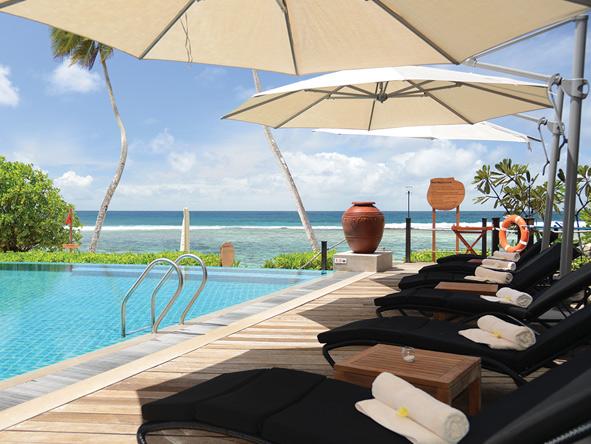 DoubleTree by Hilton Seychelles, pool