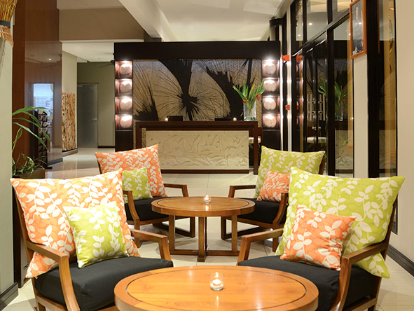Decor at the Allamanda Resort and Spa, Seychelles