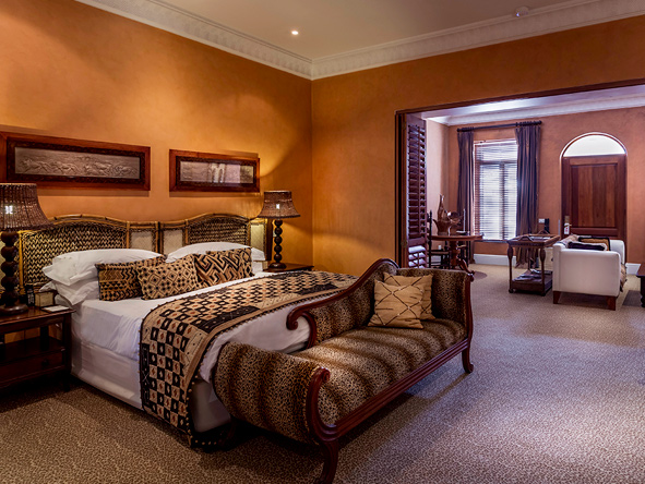 Fairlawns Boutique Hotel, luxury bedroom suite