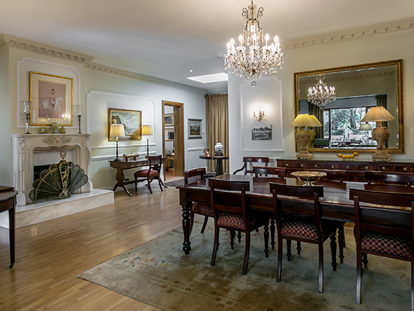 Fairlawns Boutique Hotel, dining room