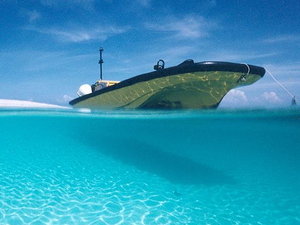 Clear Indian Ocean water